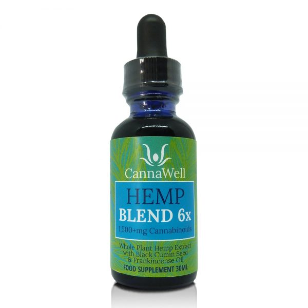 Cannawell Hemp Blend Oil 6x