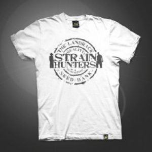 SH SEED BANK Logo Design T-Shirt White - XXL