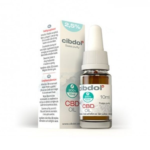 Mild CBD Oil (2.5%) - 50ml
