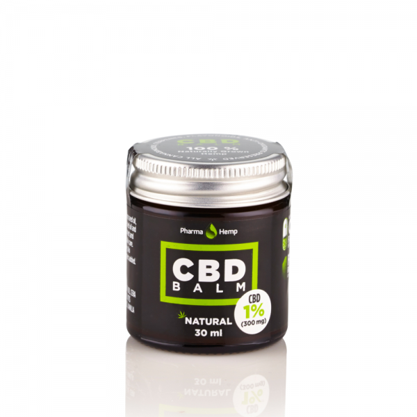 PharmaHemp CBD Balm 1% - 30 ml.