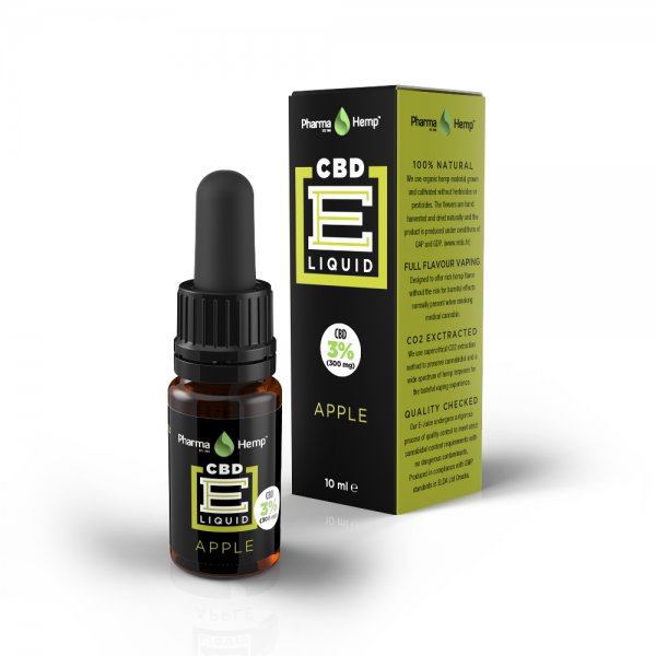 PharmaHemp CBD E-Liquid 3% - 10ml - Vanilla