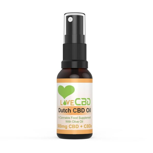 Dutch CBD Oil Spray 2.5%