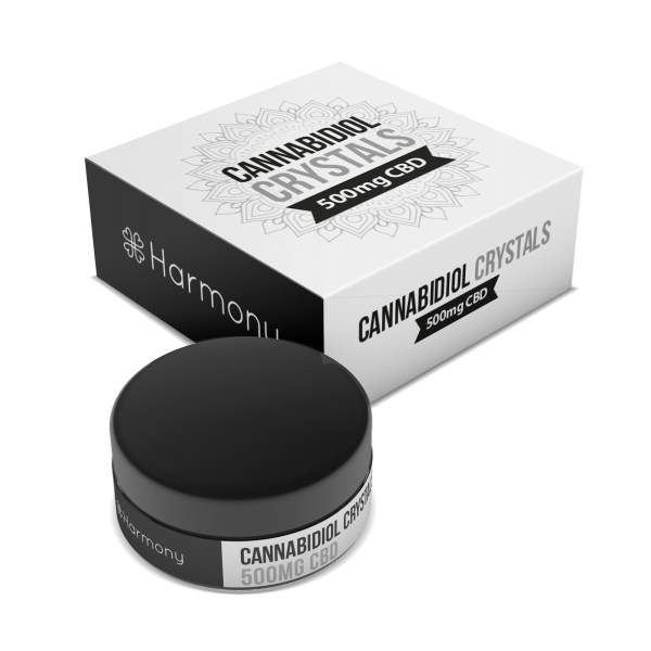 Harmony CBD Pure CBD Crystals - 500 mg.