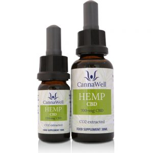 Cannawell Hemp CBD Oil - 30 ml.