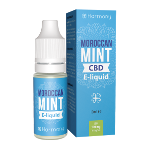 Harmony CBD Mint E-Liquid - 10 ml - 600 mg CBD