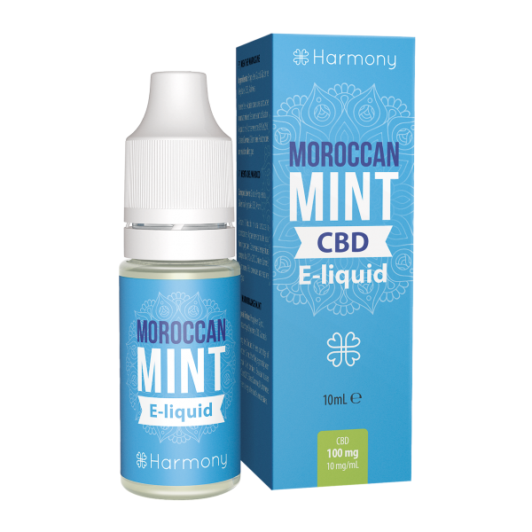 Harmony CBD Mint E-Liquid - 10 ml - 600 mg CBD