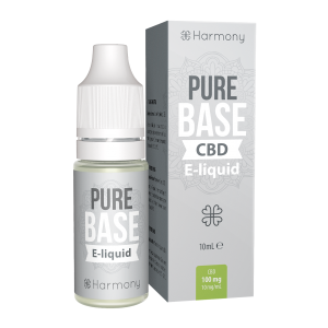 Harmony CBD Pure Base E-Liquid - 10 ml - 1000 mg CBD