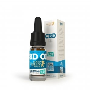Royal Queen Seeds CBD Oil 2.5% - 50ml