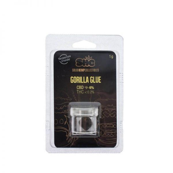 SHC CBD Hash - Gorilla Glue 6%