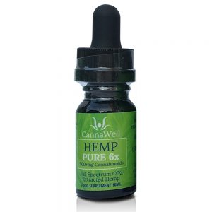 Cannawell Hemp Pure 6x Oil