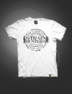SH SEED BANK Logo Design T-Shirt White - XXL