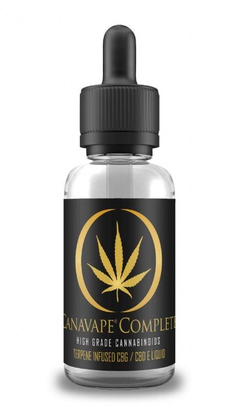 Mild CBD E-Liquid Complete (1%) - White Widow