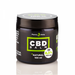 PharmaHemp CBD Balm 0.5% - 100 ml.