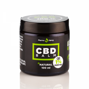 PharmaHemp CBD Balm 1% - 100 ml.