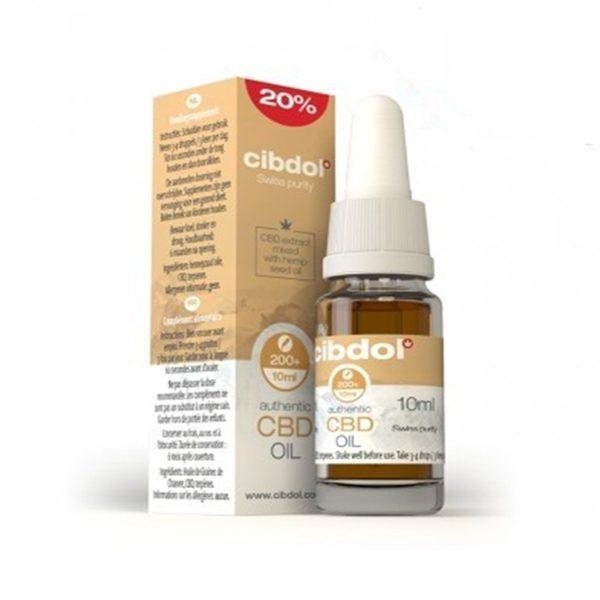 High CBD Hemp Seed Oil (20%) - 30ml