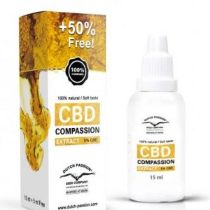 Dutch Passion CBD Compassion Oil 5%