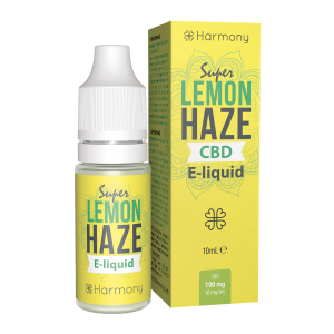 Harmony CBD Super Lemon Haze Original E-Liquid - 10 ml - 600 mg CBD